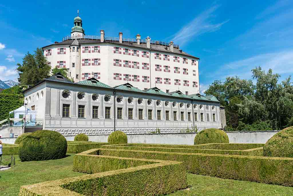 Best castles in Austria-Ambras-Castle