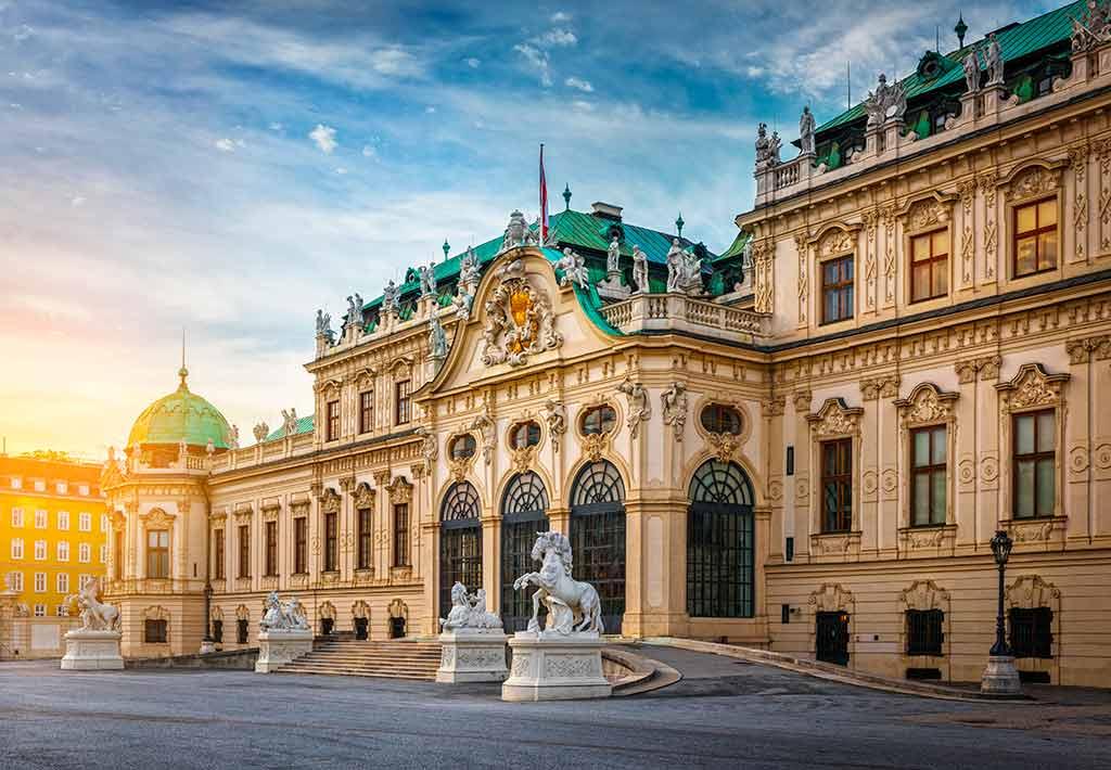 Best Austrian Castles-Belvedere
