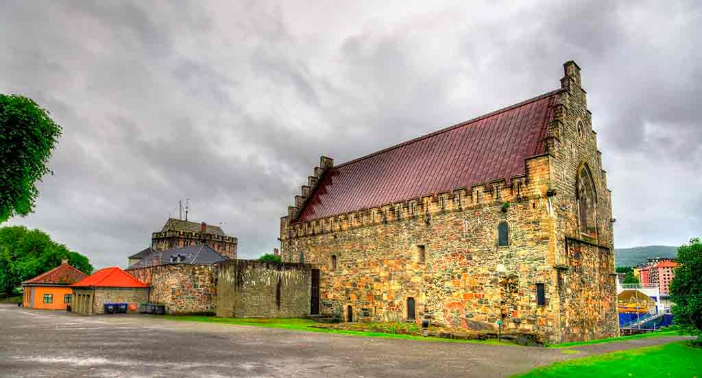 Famous Castles in Norway-Bergenhus-Fortress