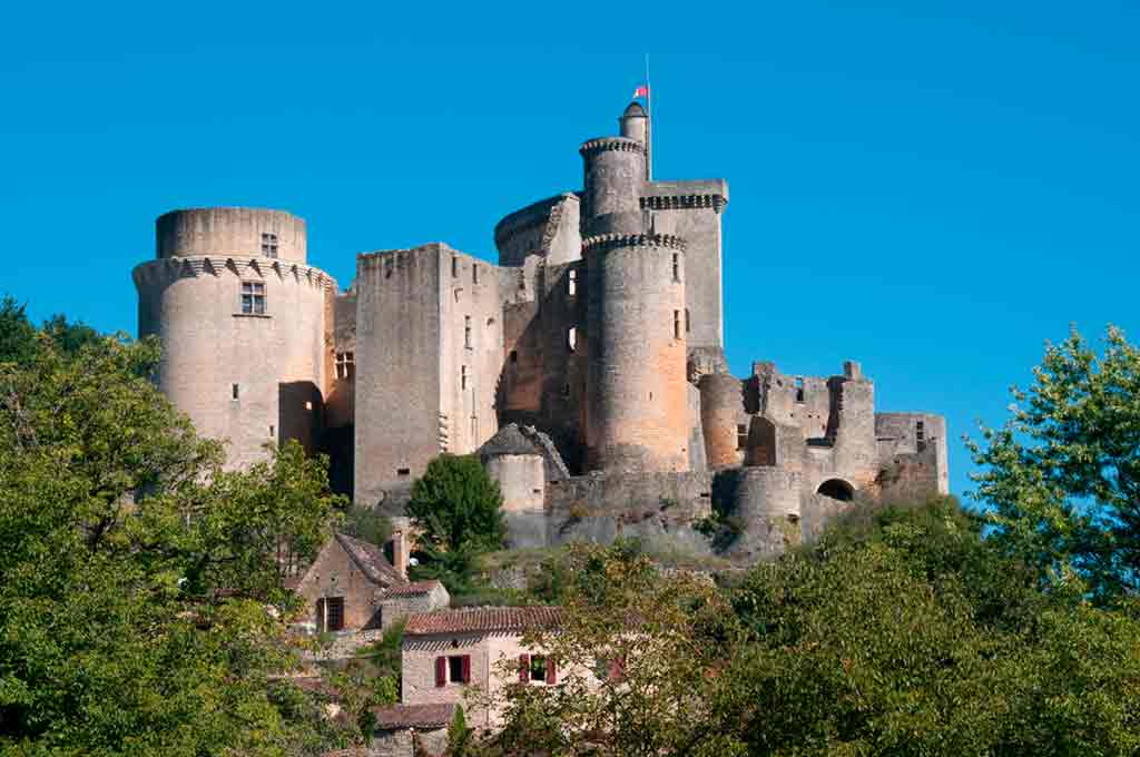 Best Southern French Castles-Bonaguil-Castle