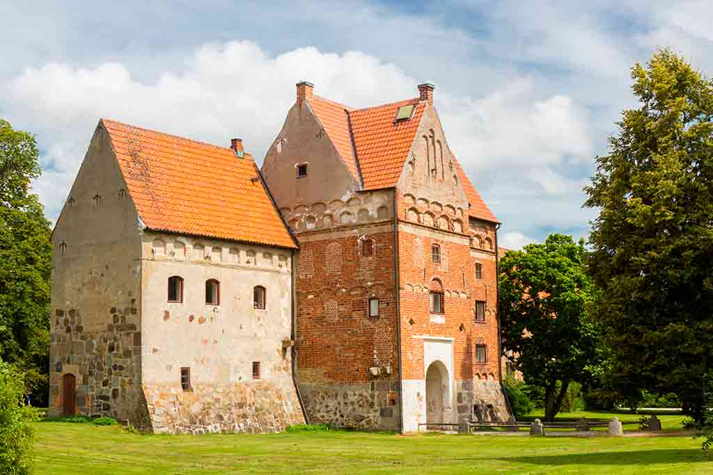 Castles in Sweden-Borgeby-castle