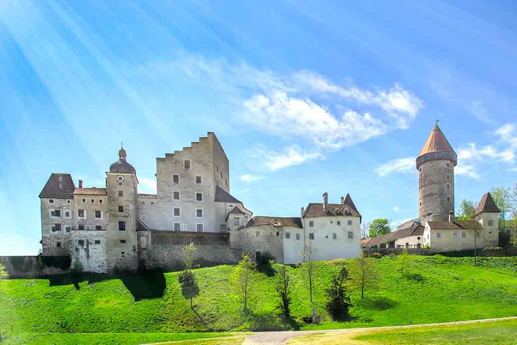 Austrian Castles-Burg-Clam