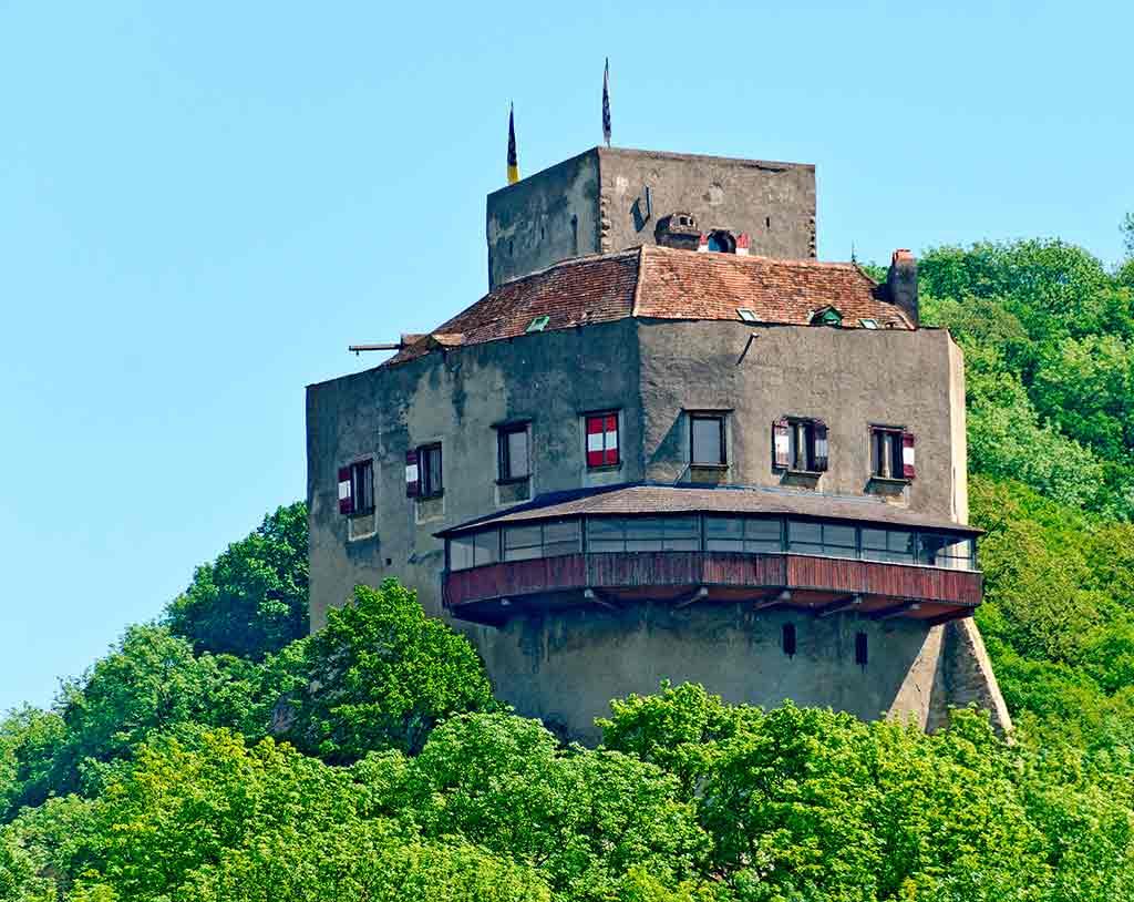 Best Austrian Castles-Burg-Greifenstein