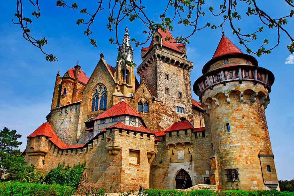 Austrian Castles-Burg-Kreuzenstein