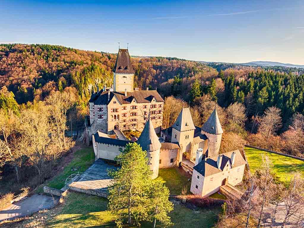 Castles in Austria-Burg-Ottenstein