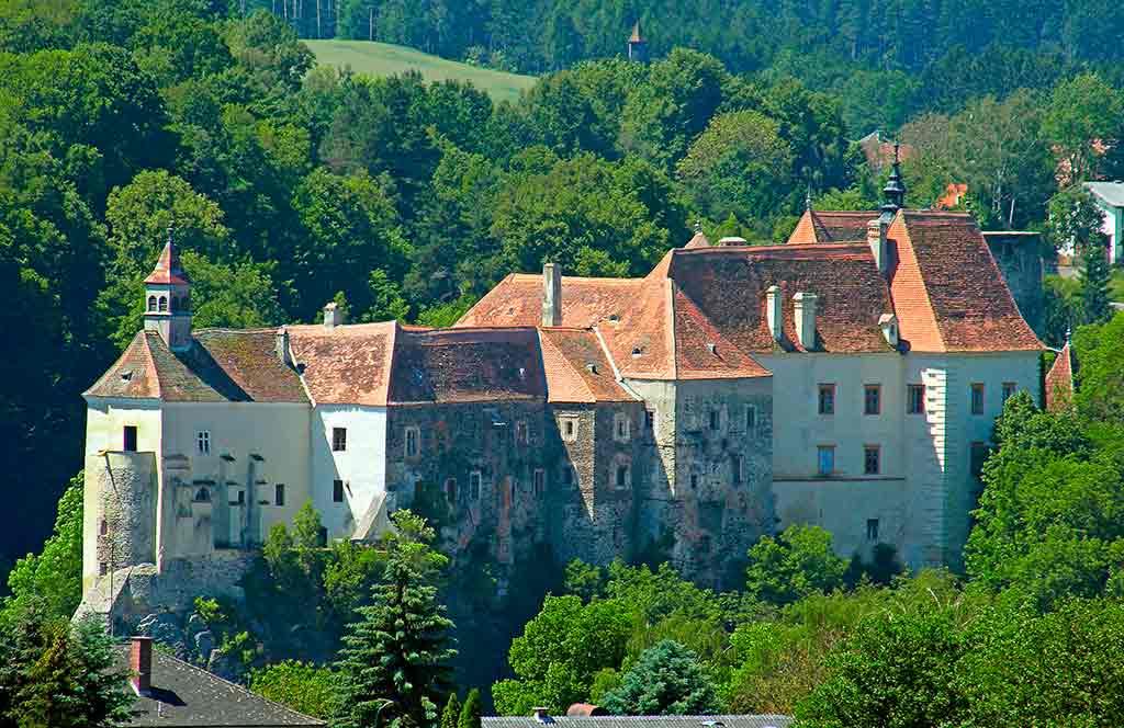 Austrian Castles-Burg-Raabs-an-der-Thaya
