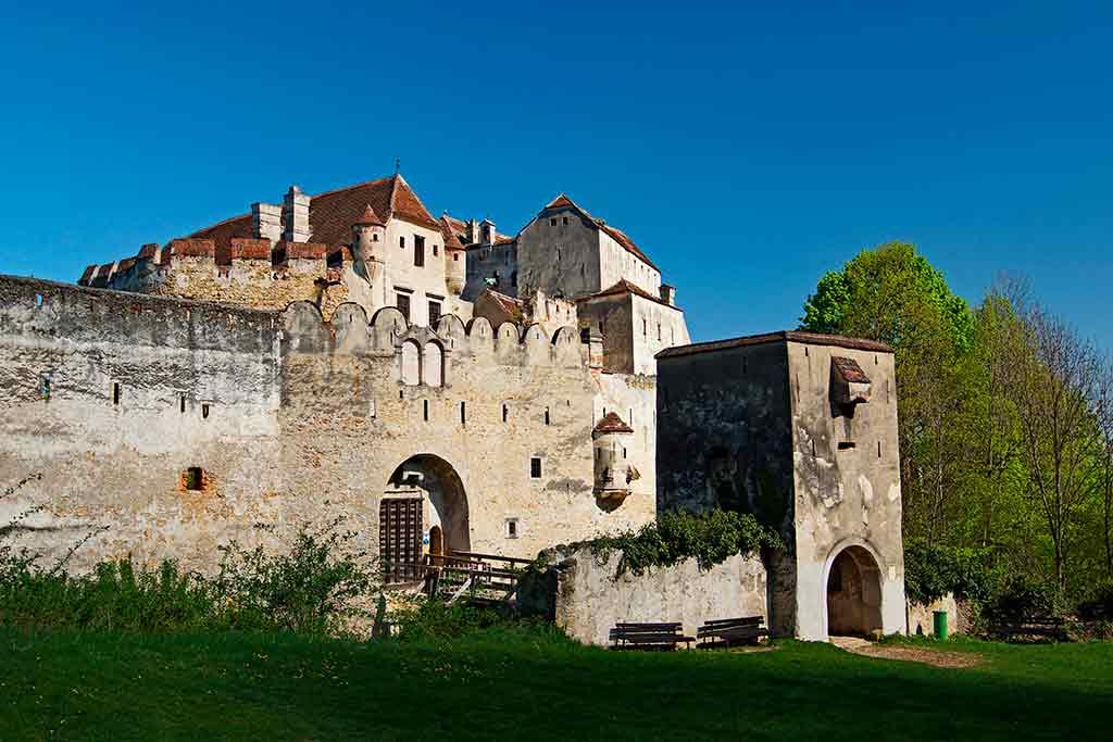 Famous Castles in Austria-Burg-Seebenstein