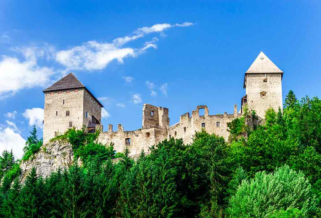 Famous Castles in Austria-Burgruine-Gallenstein
