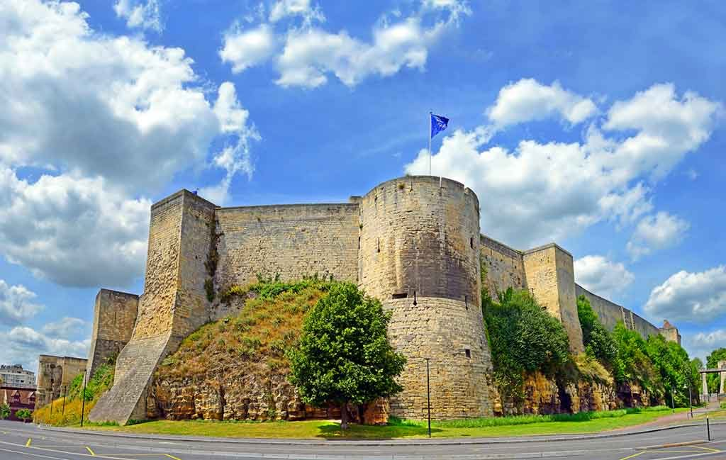 Best Northern French Castles-Caen-Castle
