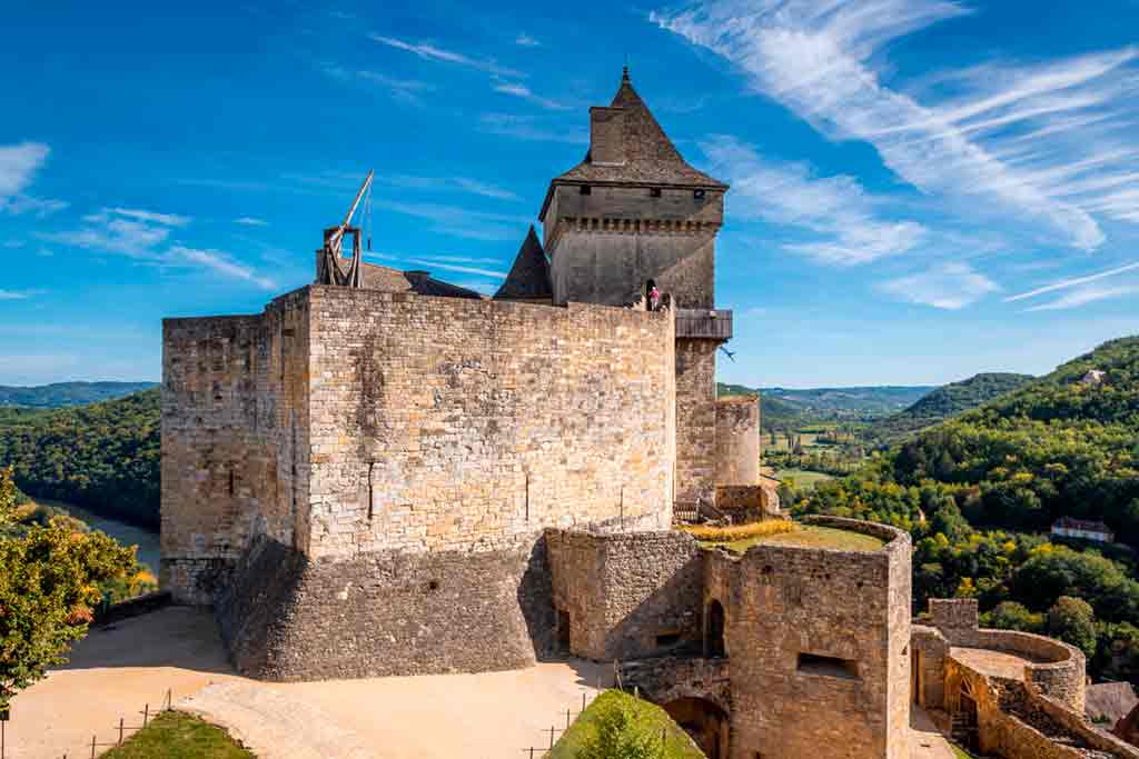 Castles in Southern France-Castelnaud-la-Chapelle-Castle