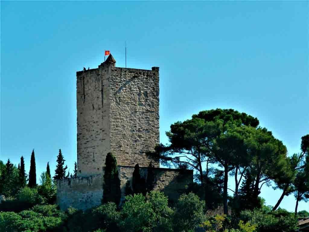 Famous Castles in Southern France-Castle-Sommières