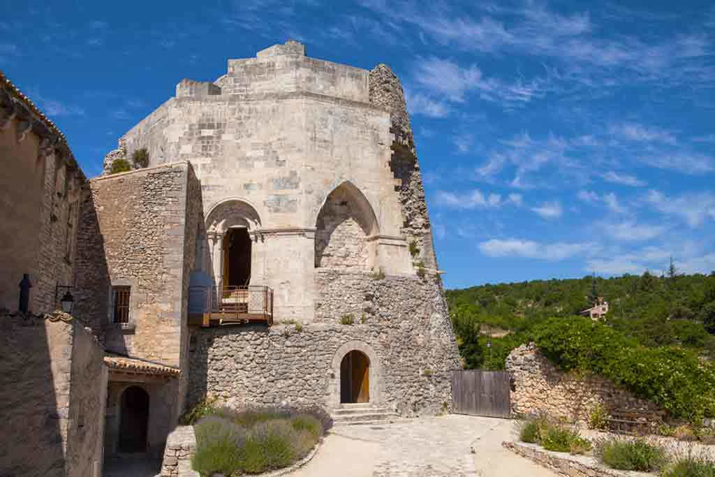 Best Southern French Castles-Castle-of-Simiane-la-Rotonde