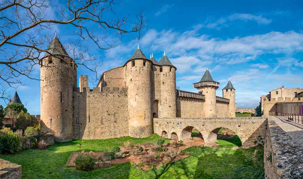 Best castles in Southern France-Château-Comtal