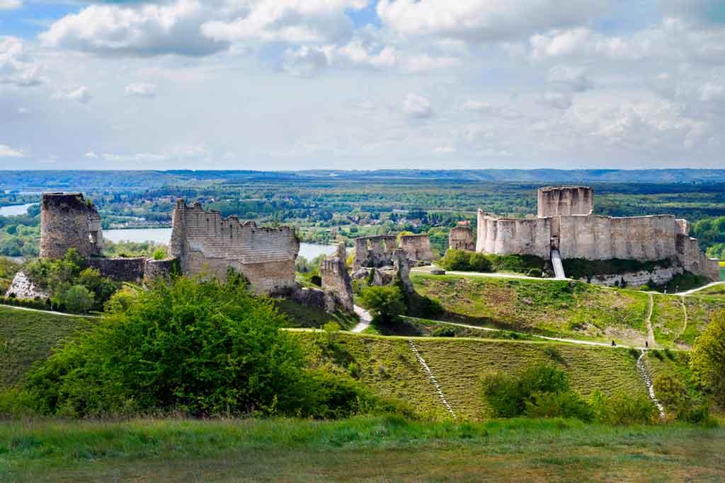 Castles in Northern France-Château-Gaillard