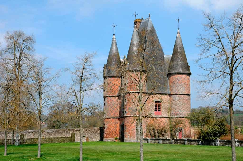 Famous Castles in Northern France-Château-de-Carrouges