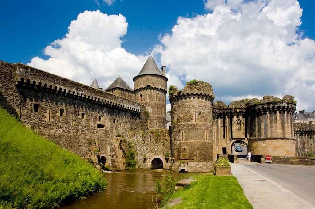 Castles in Northern France-Château-de-Fougères
