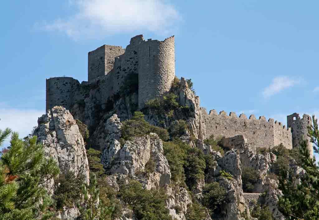 Southern French Castles-Château-de-Puilaurens