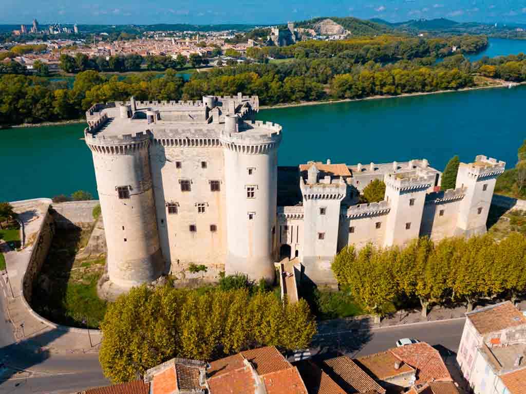 Castles in Southern France-Château-de-Tarascon