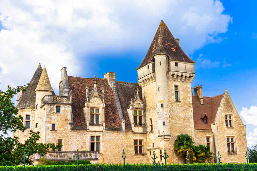 Best castles in Southern France-Château-des-Milandes