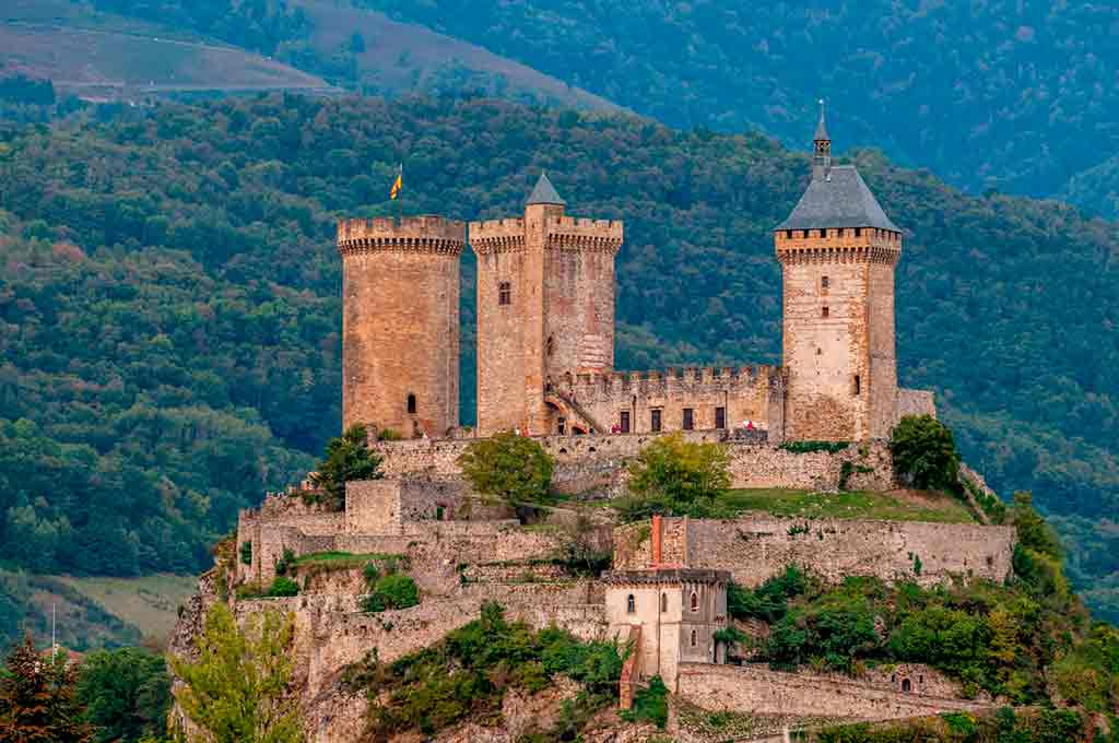 Castles in Southern France-Chateau-de-Foix