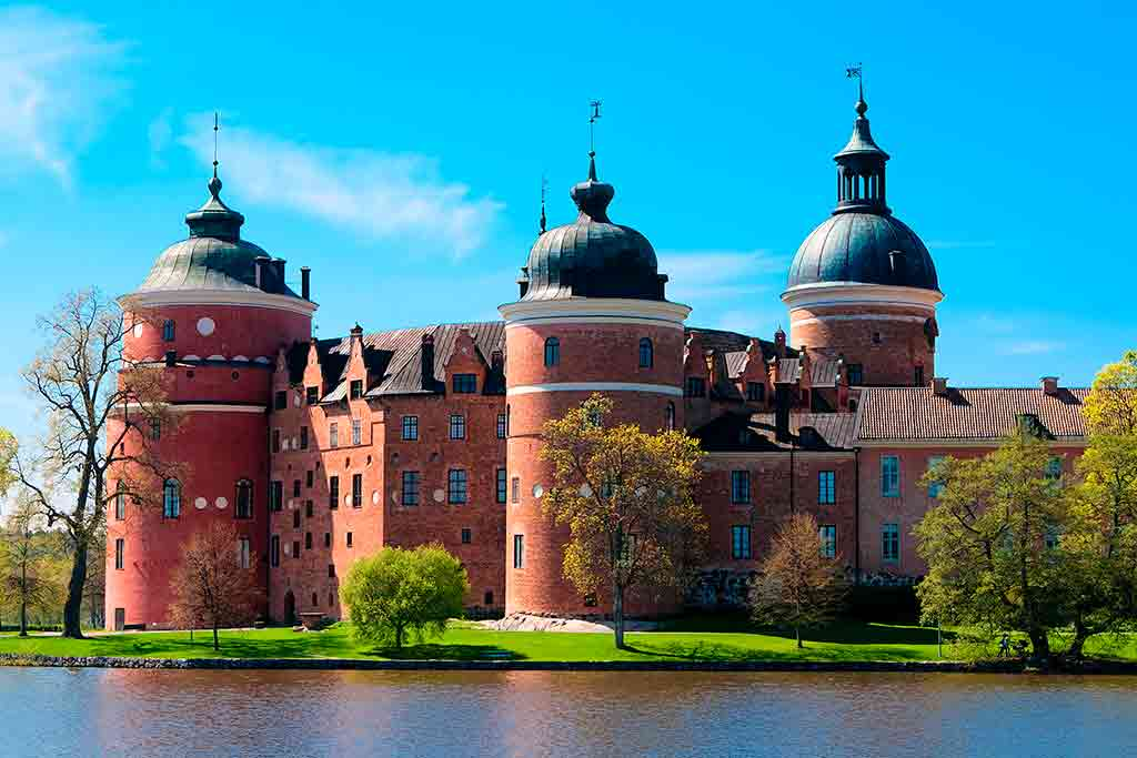 Castles in Sweden-Gripsholm-Castle