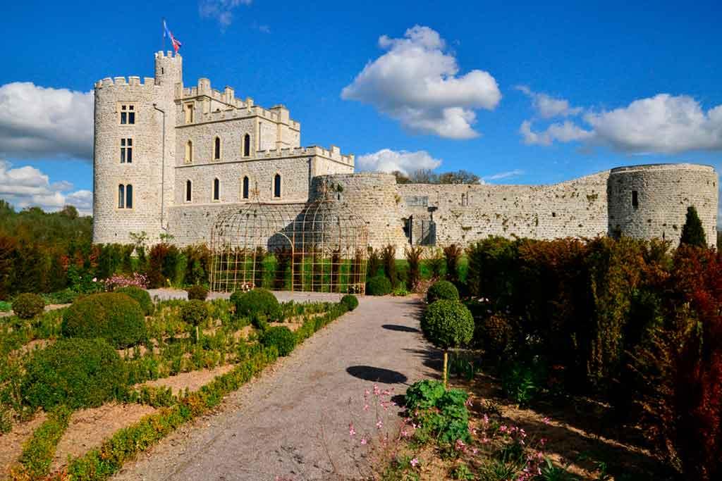 Castles in Northern France-Hardelot-Castle