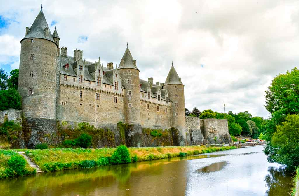 Castles in Northern France-Josselin-Castle