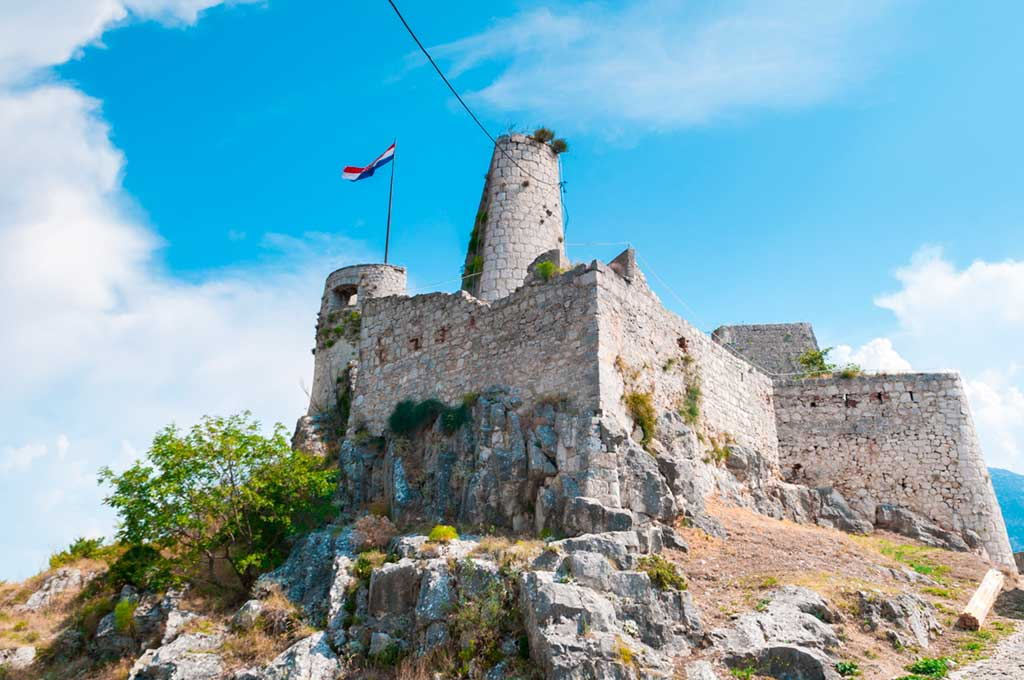 Castles in Croatia-Klis-Fortress