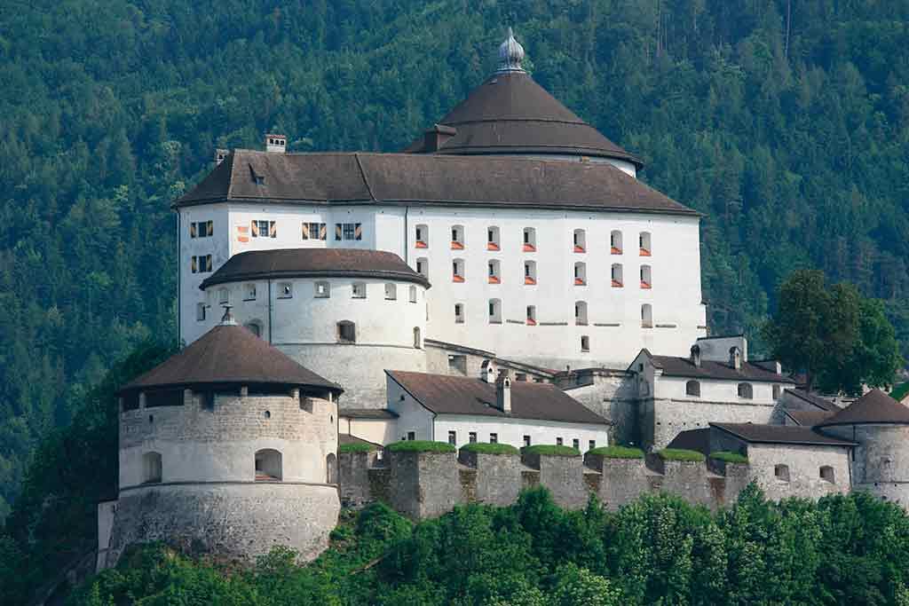 Austrian Castles-Kufstein-Fortress