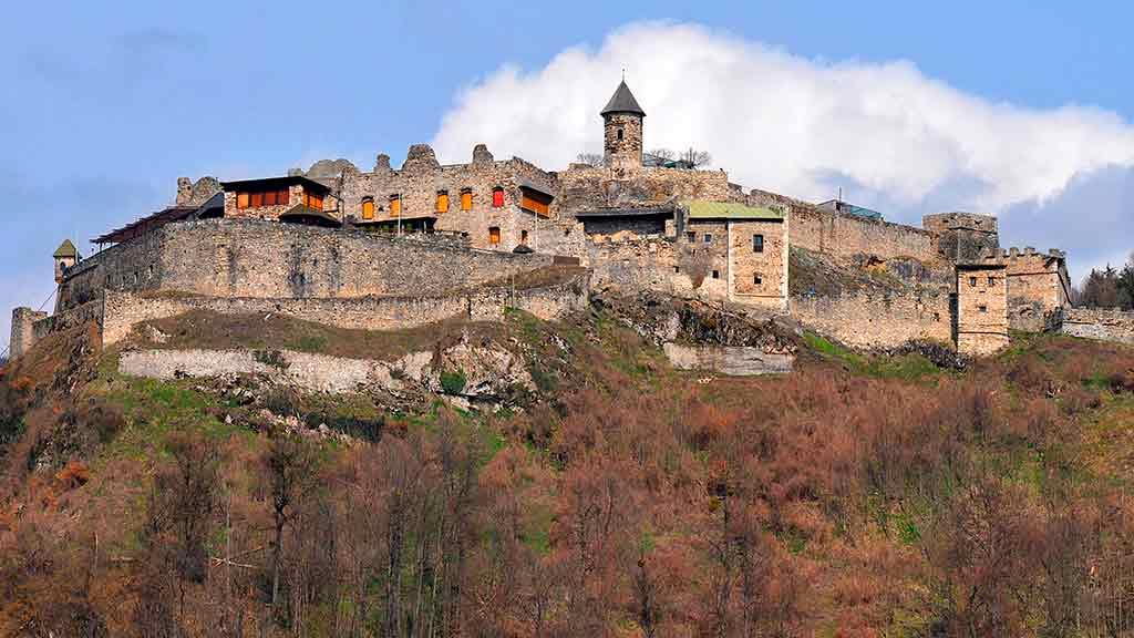 Famous Castles in Austria-Landskron-Castle