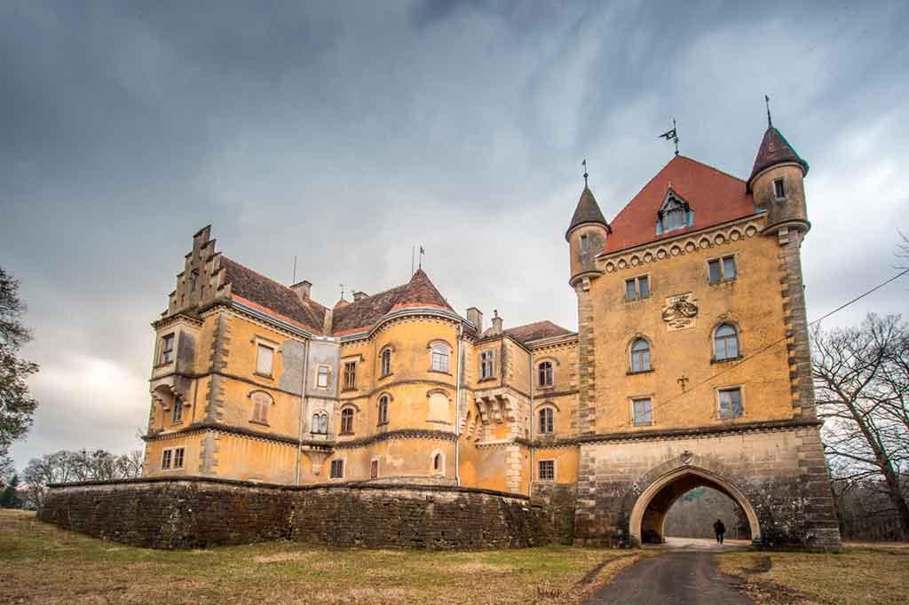 Croatian Castles-MARUŠEVEC-CASTLE