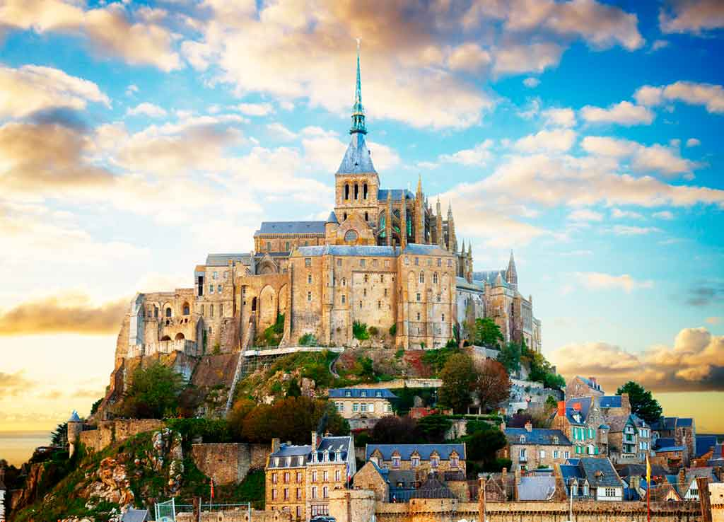 Best castles in Northern France-Mont-saint-Michel