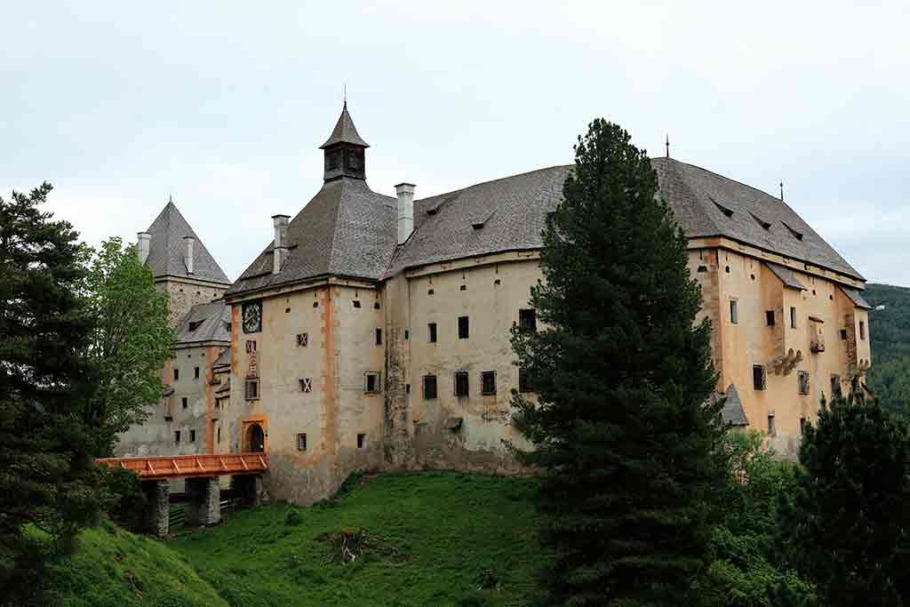 Austrian Castles-Moosham-Castle