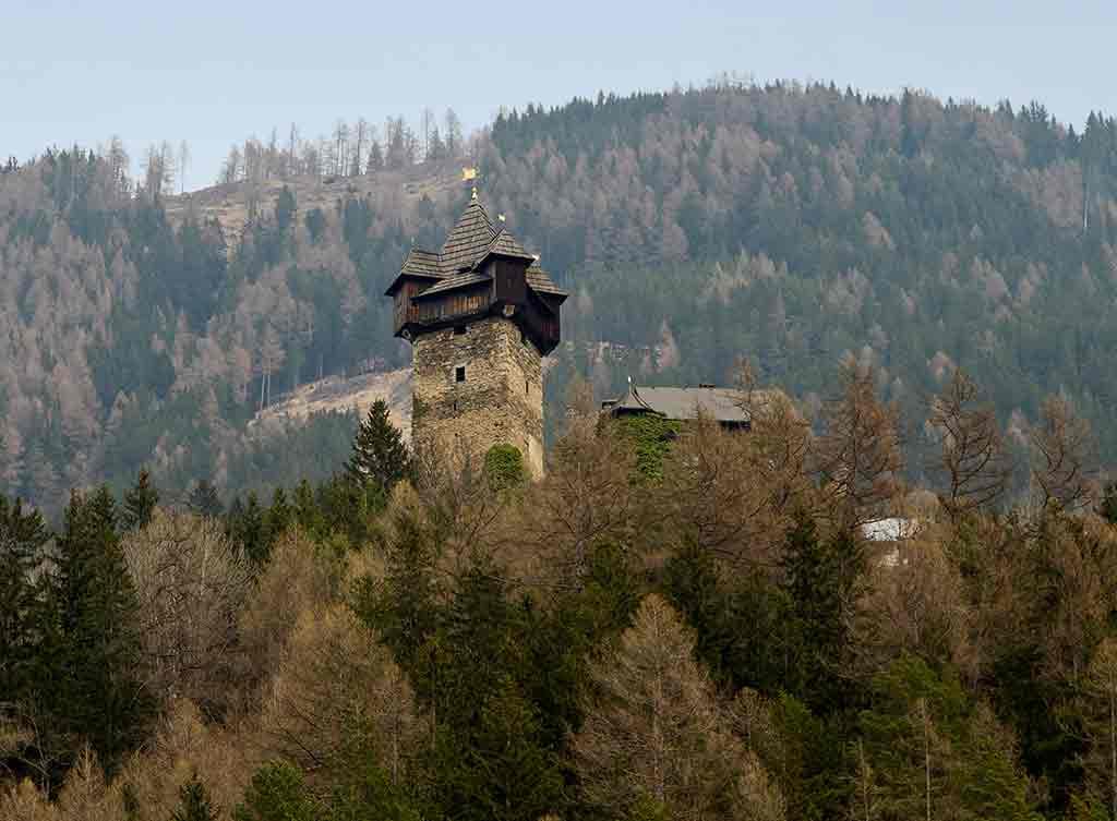 Famous Castles in Austria-Niederfalkenstein-Castle-