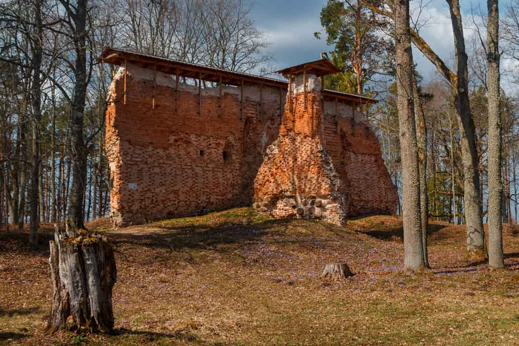 Famous Castles in Estonia-Rõngu-Castle