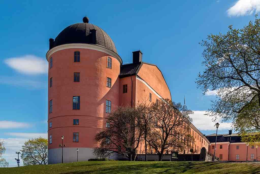 Famous Castles in Sweden-Uppsala-Castle