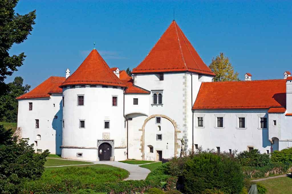 Castles in Croatia-Varazdin-Castle