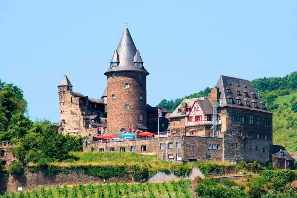 Famous Castles in Rhine-Stahleck-Castle