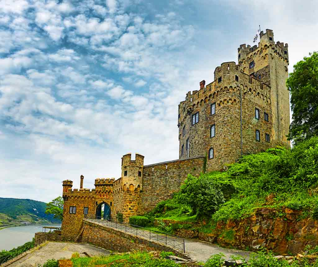 Best castles in Rhine-Sooneck-Castle