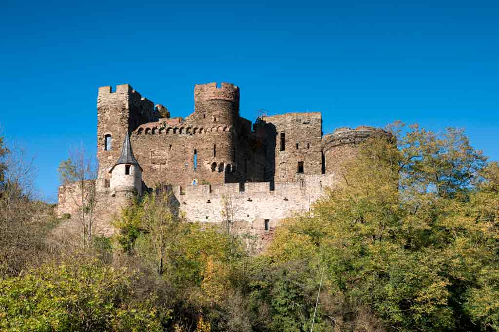 Famous Castles in Rhine-Reichenberg-Castle