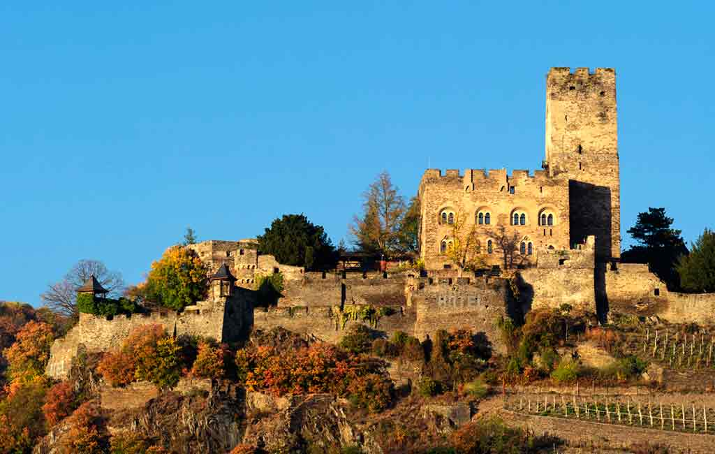Famous Castles in Rhine-Liebenstein-Castle