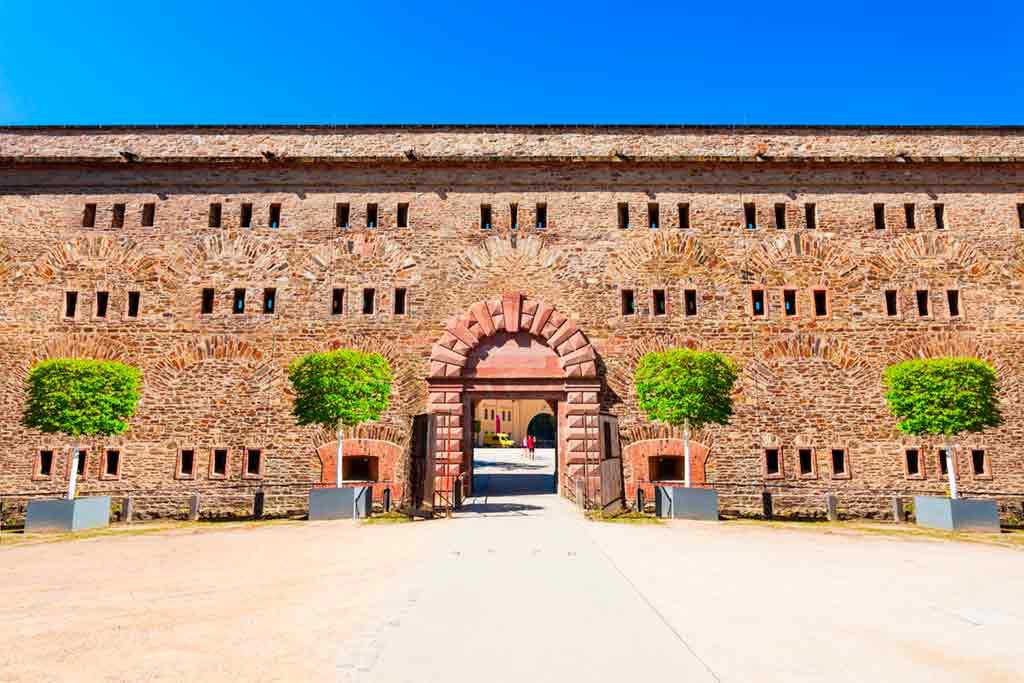 Famous Castles in Rhine-Ehrenbreitstein-Fortress
