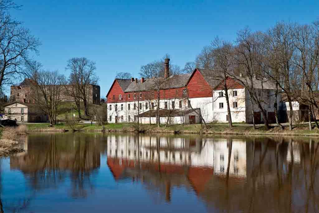Famous Castles in Latvia-Aizpute