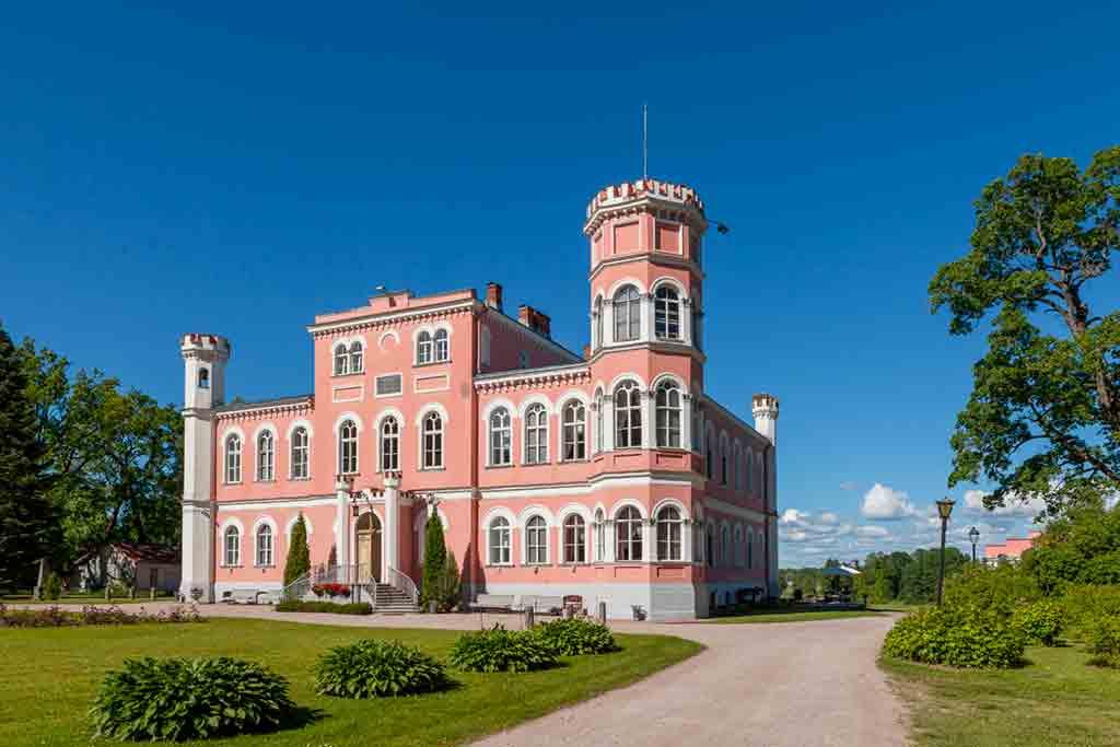 Famous Castles in Latvia-Birini-Castle
