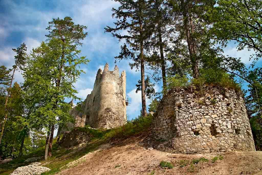 Famous Castles in Slovakia-Blatnica-Castle