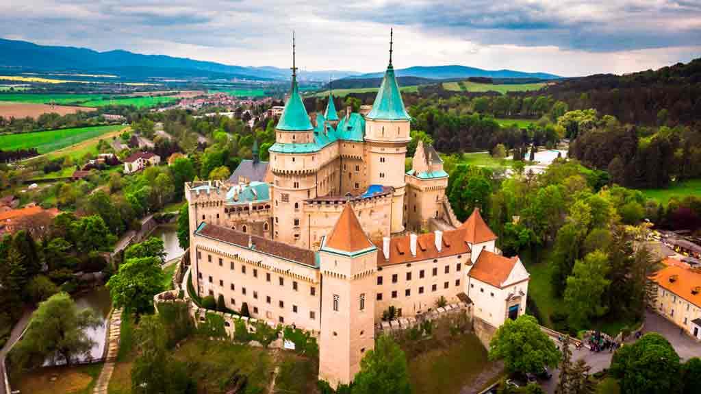 Best Slovakian Castles-Bojnice-Castle