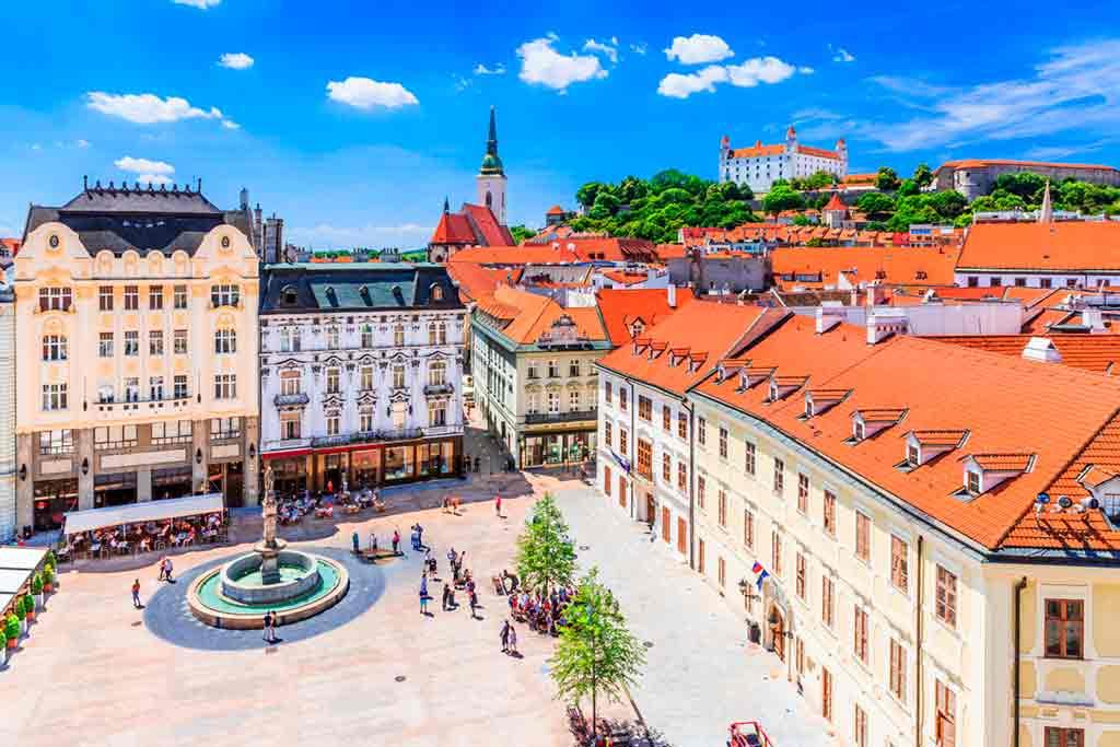 Slovakian Castles-Bratislava-Castle
