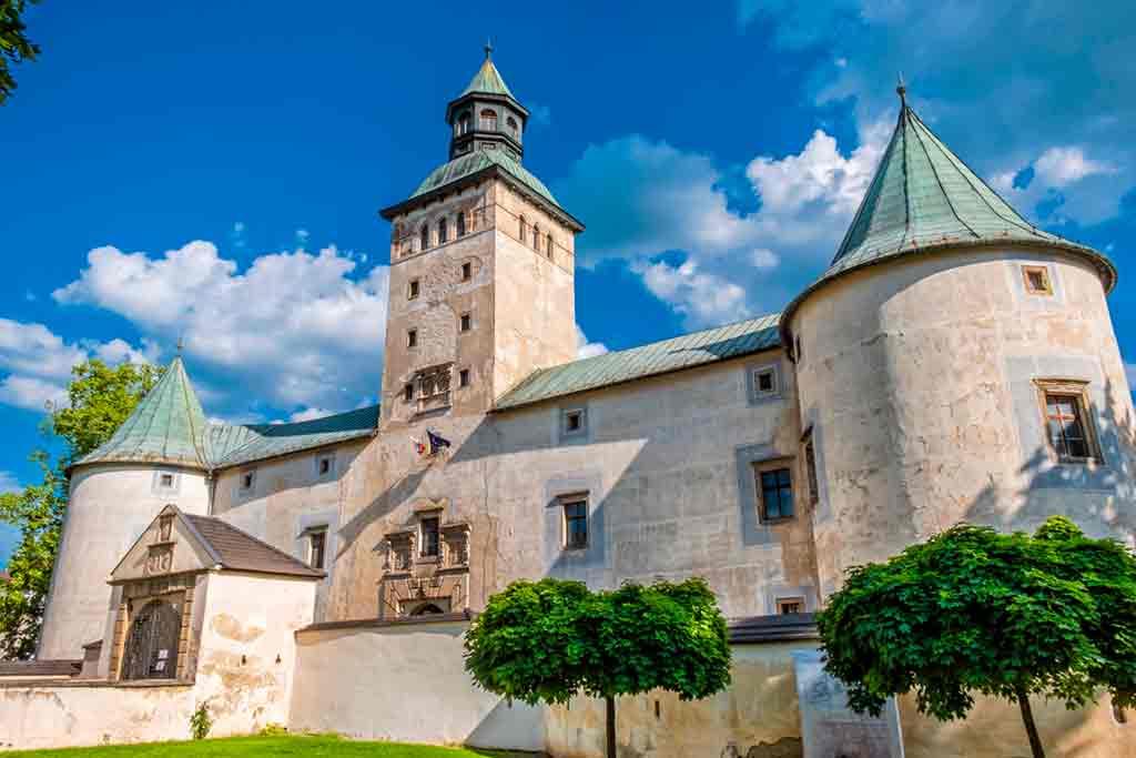Best castles in Slovakia-Bytča-Castle