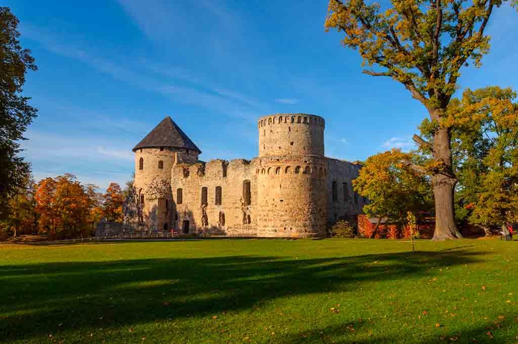 Famous Castles in Latvia-Cesis-Castle