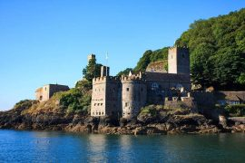 Dartmouth castle - best castles in Devon
